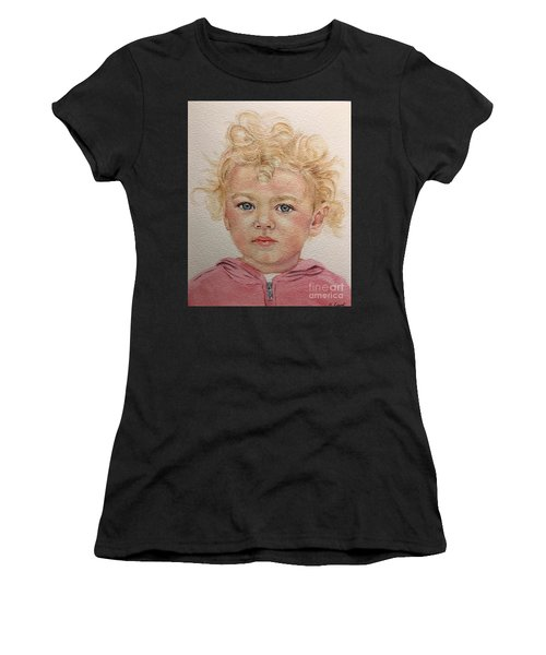 Blonde Girl Women's T-Shirt (Athletic Fit)
