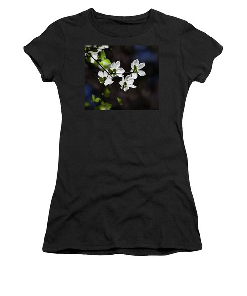 Blooming Dogwoods In Yosemite 4 Women's T-Shirt (Athletic Fit)
