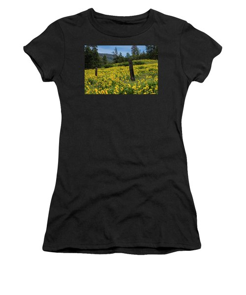 Blooming Fence Women's T-Shirt