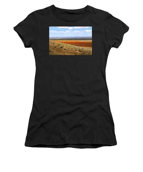 Blooming Season In Antelope Valley Women's T-Shirt (Athletic Fit)