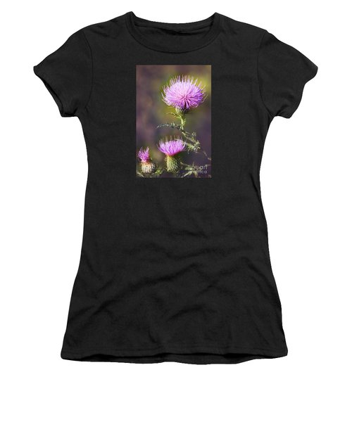Blooming Thistle Women's T-Shirt