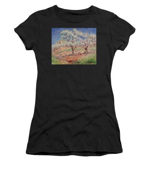 Blossom Trees  Women's T-Shirt (Athletic Fit)