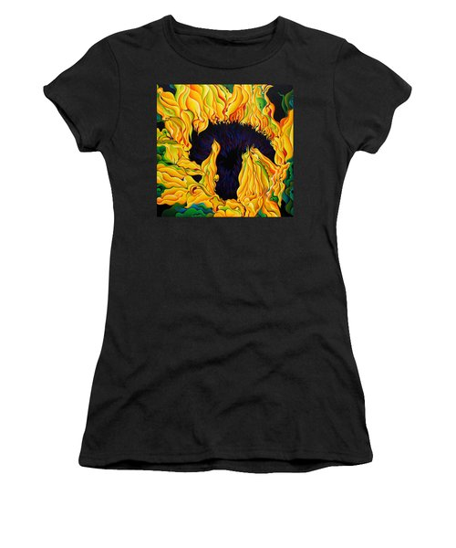 Blossomonious Yellow Trip Women's T-Shirt
