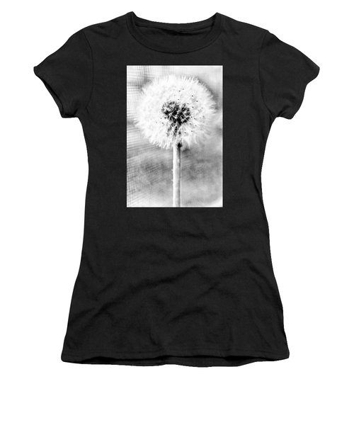 Blowing In The Wind Pencil Effect Women's T-Shirt