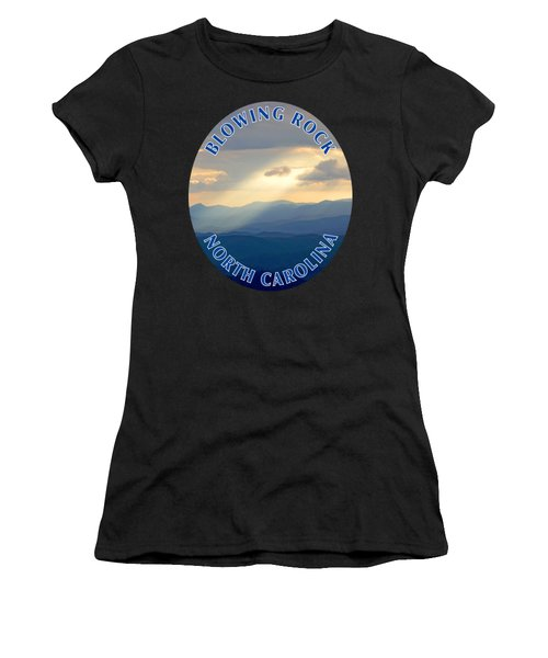 Blowing Rock Mountains T-shirt Women's T-Shirt (Athletic Fit)