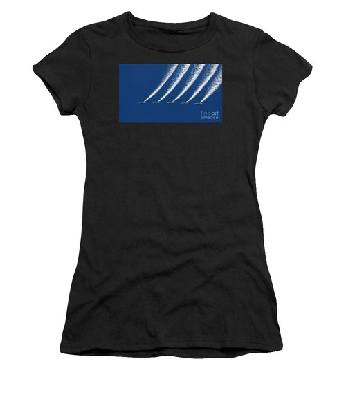 Blue Angels Formation Women's T-Shirt (Athletic Fit)