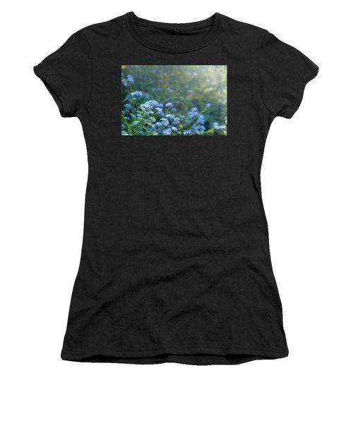 Blue Blooms Women's T-Shirt