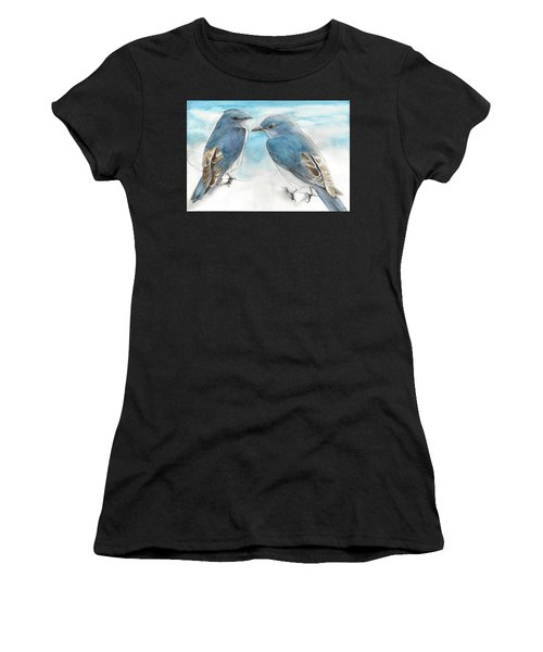 Blue Boys Women's T-Shirt (Athletic Fit)