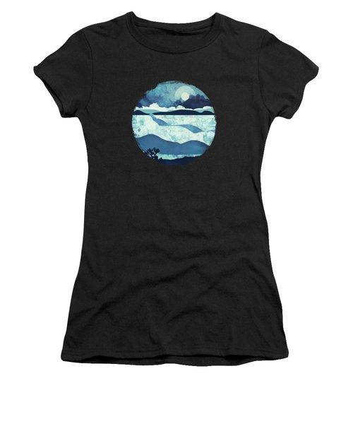 Blue Desert Women's T-Shirt (Athletic Fit)