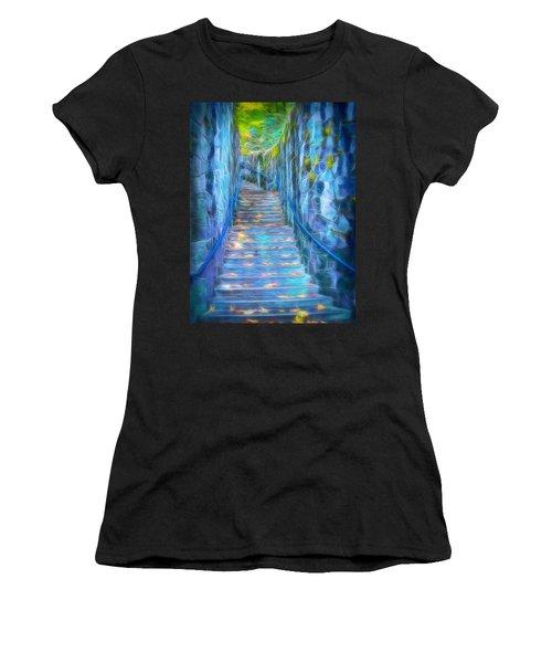 Blue Dream Stairway Women's T-Shirt