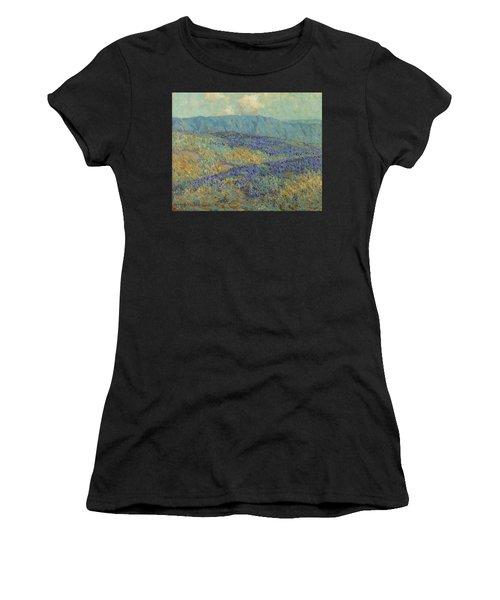 Blue Flowers Women's T-Shirt