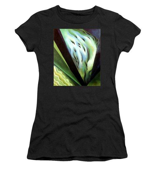 Blue Green Music Women's T-Shirt