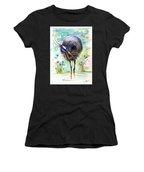 Blue Heron Women's T-Shirt