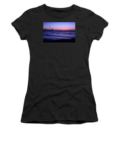 Blue Hour In Galveston Women's T-Shirt (Athletic Fit)