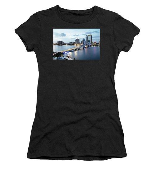 Blue Hour In Jacksonville Women's T-Shirt