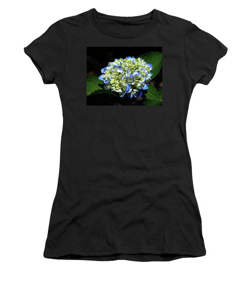 Blue Hydrangea Onstage 2620 H_2 Women's T-Shirt (Athletic Fit)