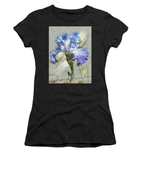 Blue Iris 2 Women's T-Shirt