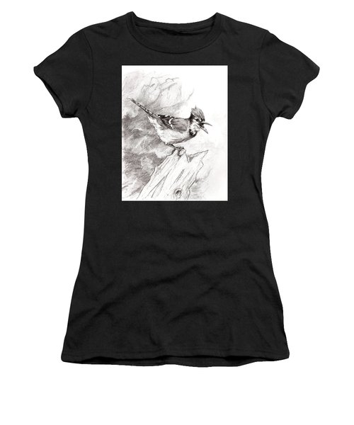 Blue Jay Women's T-Shirt (Athletic Fit)
