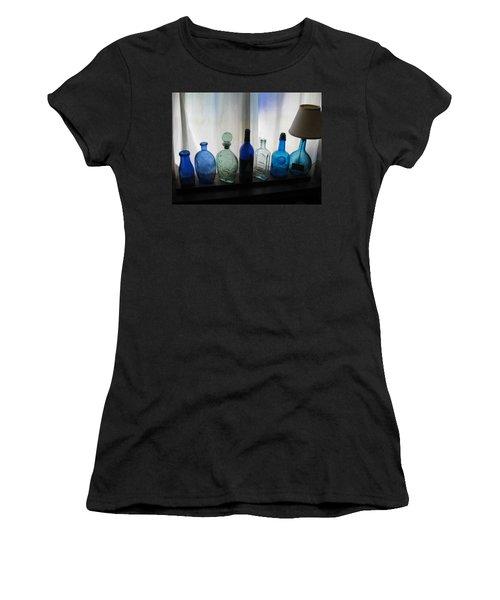 Blue Women's T-Shirt (Junior Cut) by John Scates