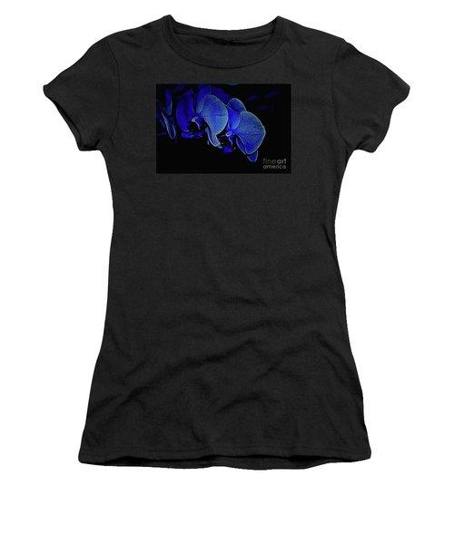 Blue Light Women's T-Shirt (Athletic Fit)