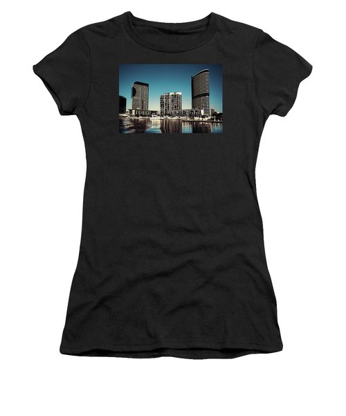 Blue Melbourne Women's T-Shirt (Athletic Fit)