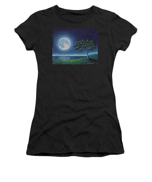 Blue Moon 01 Women's T-Shirt