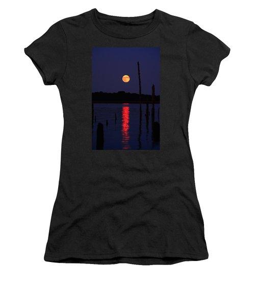 Blue Moon Women's T-Shirt (Athletic Fit)