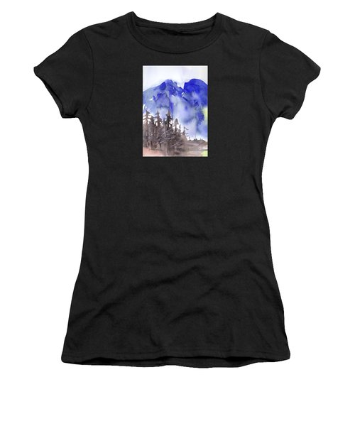 Blue Mountains Women's T-Shirt (Athletic Fit)
