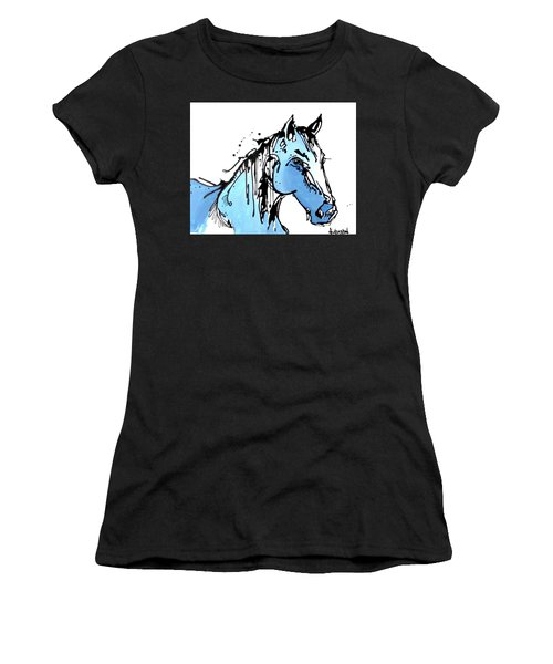 Blue Women's T-Shirt