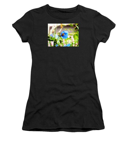 Blue Poppy Women's T-Shirt