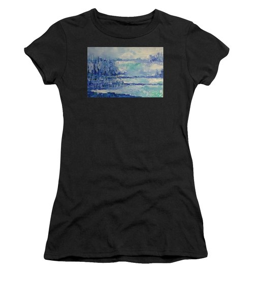 Blue Reflections Women's T-Shirt (Athletic Fit)
