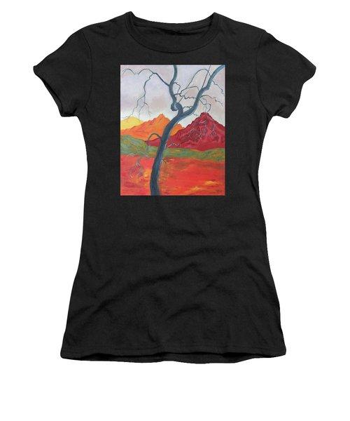 Blue Retama Women's T-Shirt