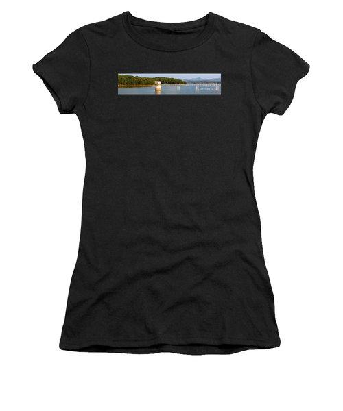 Blue Ridge Dam - Panoramic Women's T-Shirt