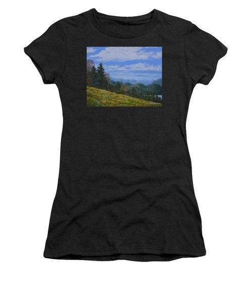 Blue Ridge Impression Women's T-Shirt (Athletic Fit)