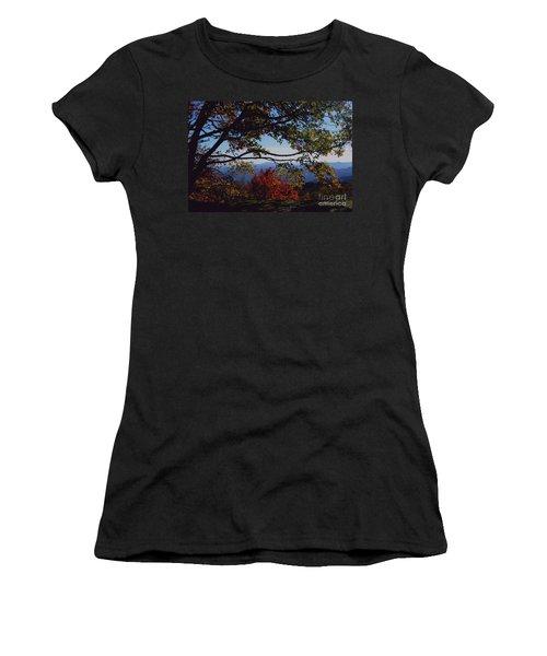 Blue Ridge Mountain View Women's T-Shirt (Athletic Fit)