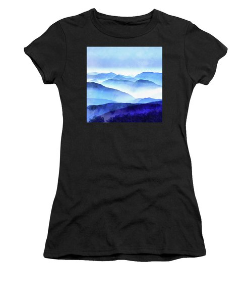 Blue Ridge Mountains Women's T-Shirt