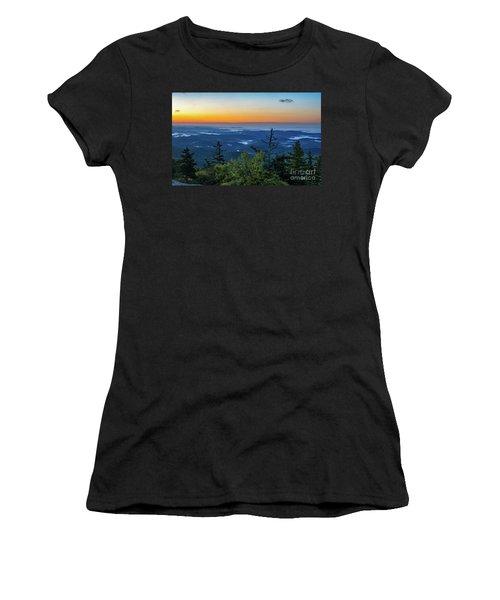 Blue Ridge Mountains Sunrise Women's T-Shirt