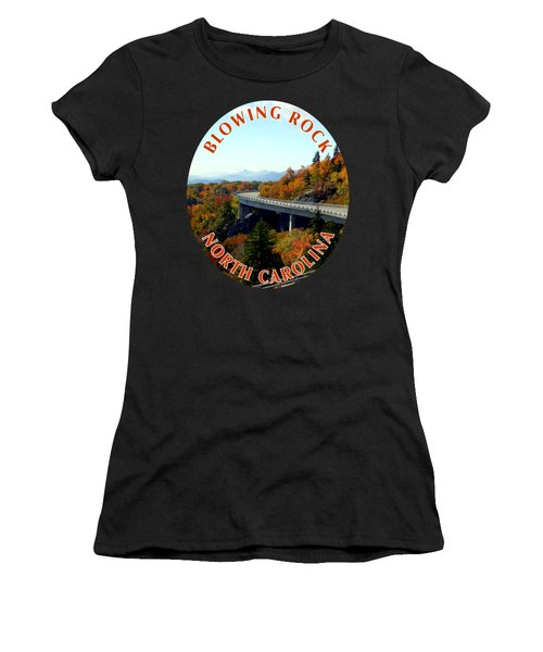 Blue Ridge Parkway T-shirt Women's T-Shirt (Athletic Fit)