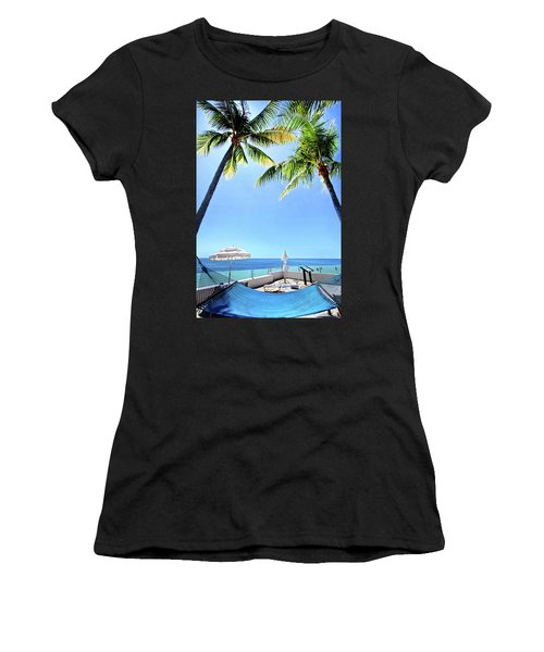Women's T-Shirt (Junior Cut) featuring the photograph Blue Sky Breezes by Phil Koch