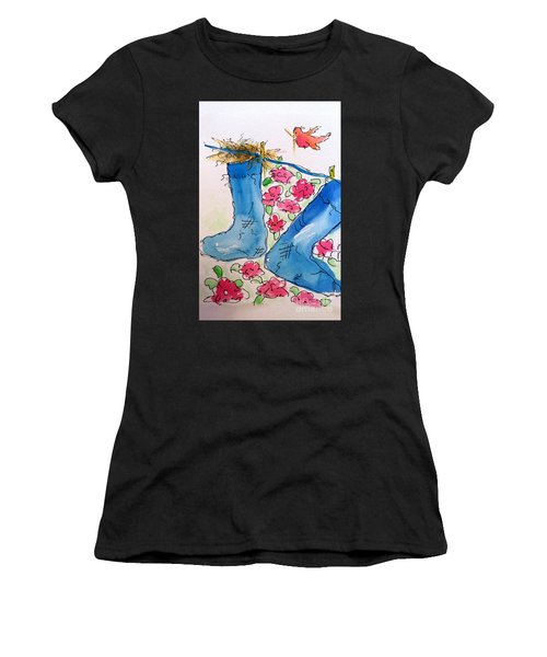 Blue Stockings Women's T-Shirt