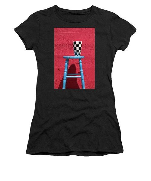 Blue Stool Women's T-Shirt