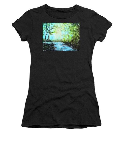 Blue Stream Women's T-Shirt