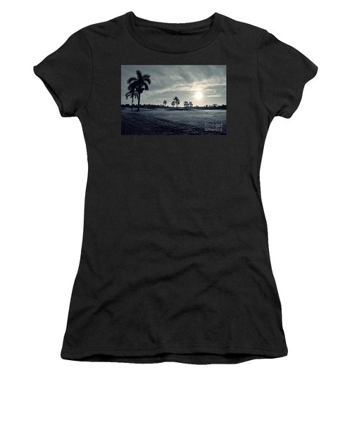 Blue Sunrise Women's T-Shirt (Athletic Fit)