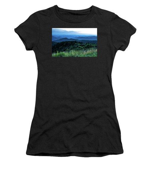 Blue Sunset Women's T-Shirt (Athletic Fit)