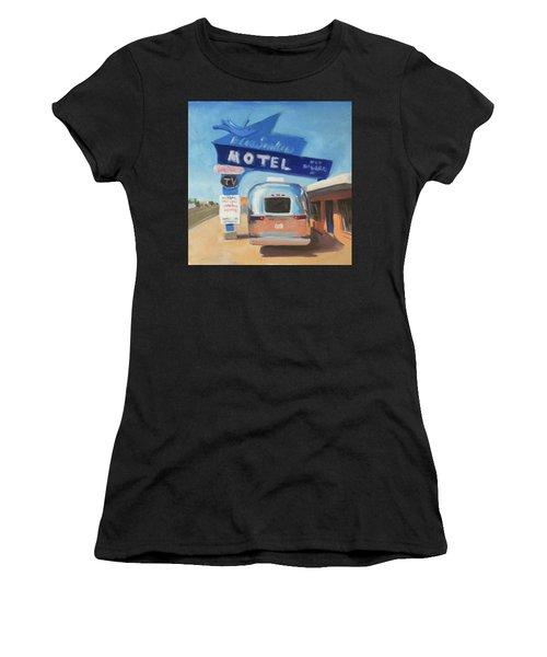 Blue Swallow Motel Women's T-Shirt (Athletic Fit)