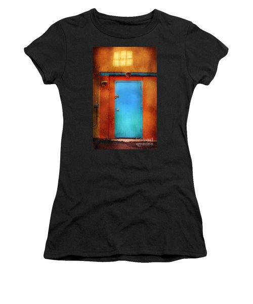 Blue Taos Door Women's T-Shirt