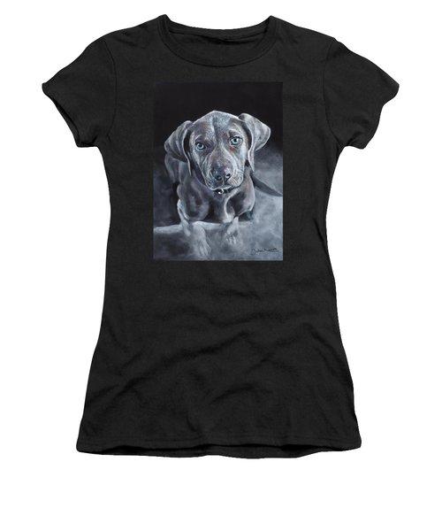 Blue Weimaraner Women's T-Shirt