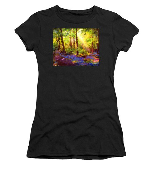 Bluebell Blessing Women's T-Shirt (Athletic Fit)