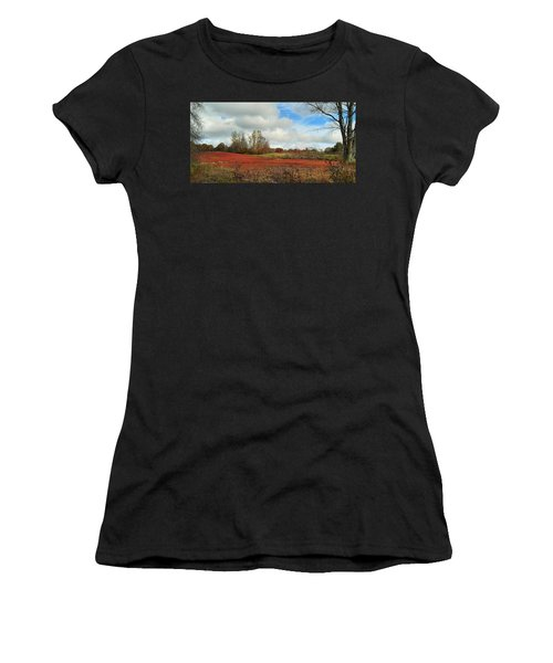 Blueberry Fields Women's T-Shirt (Athletic Fit)