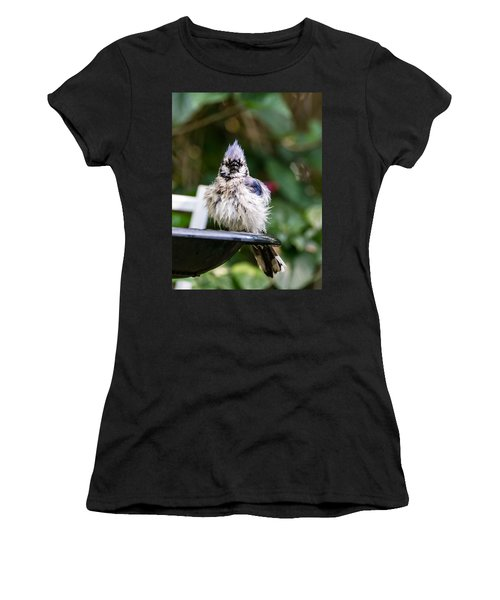 Bluejay Bath Women's T-Shirt (Athletic Fit)
